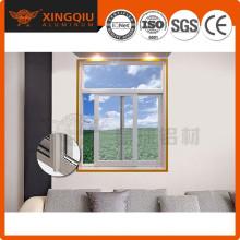 High qualitywhite aluminium frame glass window