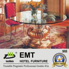 Tabla de madera del vestíbulo del hotel de la mesa de madera de tabla (EMT-FD05)
