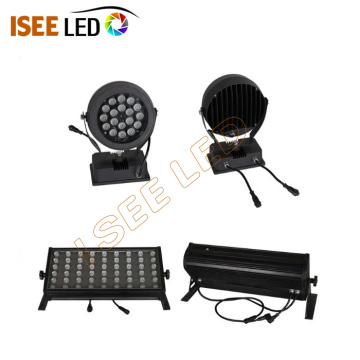 Profil lumineux Round Power RGB DMX Flood
