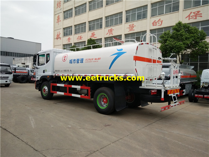 Street Water Tanker Vehicle
