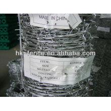 Vente chaude fabrication longueur de fil de fer barbelé par rouleau à vendre