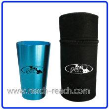 OEM-4PCS Aluminium Cup setzt mit Deckel (R-4026)