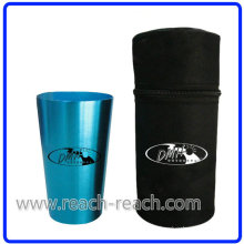 OEM 4PCS Aluminum Cup Sets with Cover (R-4026)