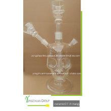 Verre transparent Shisha Arab Hookah Bonne qualité