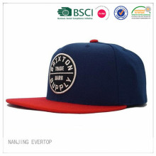 Mens marinen applikationer platt Bill Snapback keps