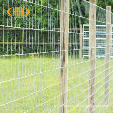 Cheap 4 ft 5 ft goat fencing galvanized farm field wire mesh cattle fence price