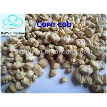 Gránulos de mazorca de maíz de 80-120 mallas para pulir superficies metálicas