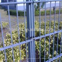 высокая растяжимая 656 или 868 двойной проволока горячая окунутая гальванизированная загородка сваренной сетки