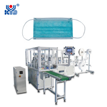 Full-Automatic Medical Protective Flat Face Mask Machine