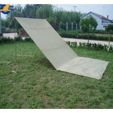 Cotton Canvas Shelter Tarps für Schatten