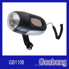 3LED солнечный ручной фонарик Crank