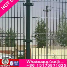 High Way Zaun mit PVC beschichtet, grün, blau, gelb und rot Farbe auch Calle 358 Zaun