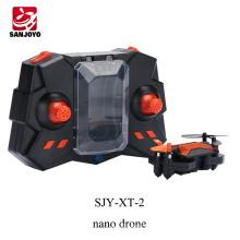 ПК СХ-10 нано 2.4 г 4ch беспилотный мини складной селфи-Дрон с 720p WiFi камера 3D флип для подарка детей SJY-ХВ-2
