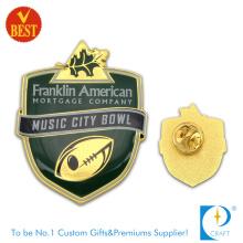 City Bowl Pin Abzeichen mit Gold Plating aus China