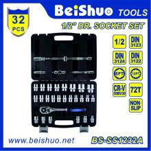 """32PCS 1/2"""" Socket Set for Car Repair"""