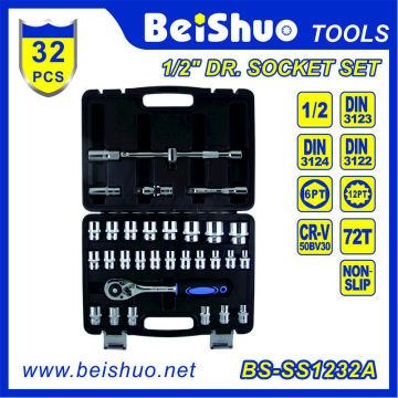 """32PCS 1/2 """"Socket Set para la reparación de coches"""