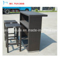 Rattan Furniture Hot Selling Bar Set for Garden Use