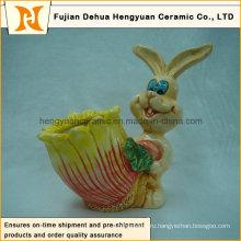 Пасхальный кролик с хмелем-карманом