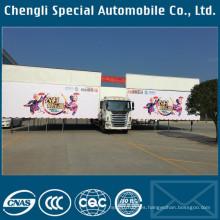 Carro de Jianghuai 4 X 2 JAC marca LHD escenario al aire libre