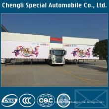 Jianghuai 4X2 JAC Brand LHD Outdoor Stage Truck