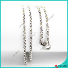 Bijoux en acier inoxydable en chaîne Rolo