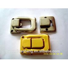 Fashion alta qualidade metal lock bolsa com preço barato
