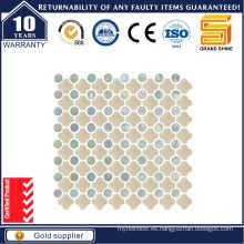 Piedra de mármol gris / Mosaico de mezcla de vidrio para piscina Sce0230