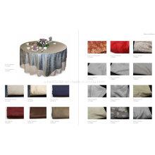 Toile de table 100% coton damassé