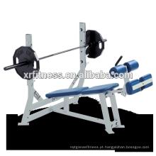 imprensa de banco do declínio do gym do banco do peso do exercício venda