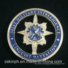 Moneda de Desafío Militar Personalizada Barata Promoción