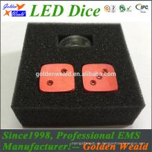 Rot Grün Blau LED-Beleuchtung MCU-Steuerung bunte LED-Würfel mit MCU-Steuerung
