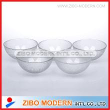 Стеклянная чаша с эффектом текстуры кожи