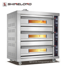 Hot sale commercial Best price Stainless Steel Baking Equipment bread double deck oven
