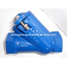 Чугунный резьбовой обратный шаровой обратный клапан