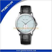 Versión simple suizo de alta calidad reloj analógico