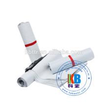2 couleurs imprimant le sac en plastique blanc de LDPE poly pour l'expédition de courrier