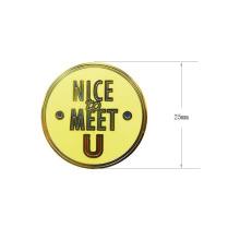 Personalizado Placa De Metal De Metal De Plástico