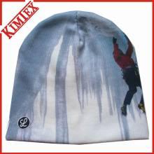 Alta qualidade acrílico malha chapéu de impressão de sublimação