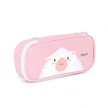 CUTE SHEEP PU PENCIL CASE-0