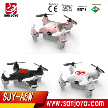 Newest Drone SJY-A5W Mini Quad Copter With Flight Plan Flying Track For Christmas Gifts