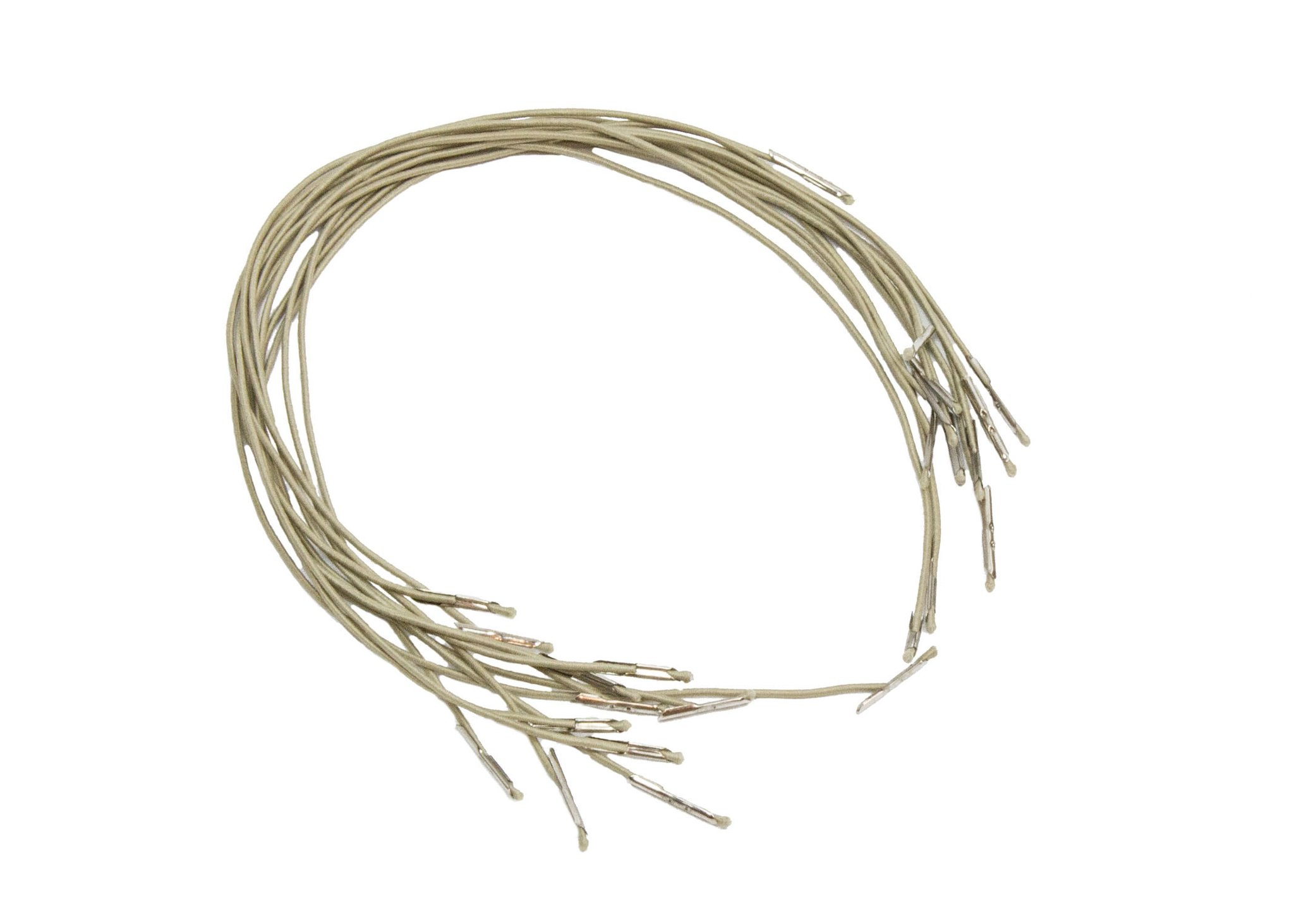 elastic cord with metal ends