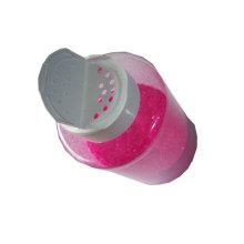 glitter with bottle