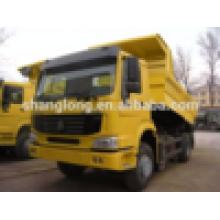 Caminhão de Cnhtc Sinotruk HOWO (290HP) 4X2dump / caminhão de caminhão basculante / descarregador