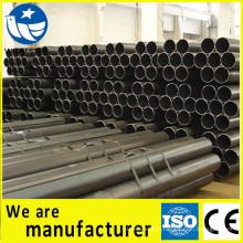 CE, sites de construction de tuyaux en acier à base de carbone noir FPC