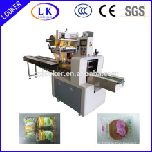Horizontal wrapping machine for soap wrapping packing