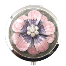 Pink Daisy Compact Mirrors