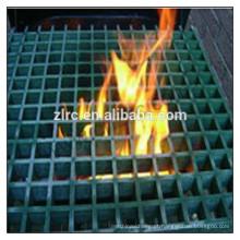 grade de fibra de vidro moldada e pultrudada grades anti-fogo