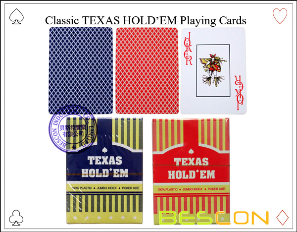 Classic TEXAS HOLDEM Playing Cards-6