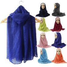 Solid color muslim hijab scarf Tudung scarf