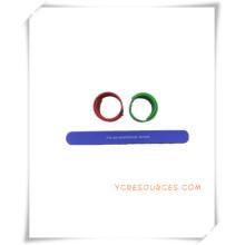 Silikon-Schlag-Handgelenk-Band für Werbegeschenke (OS14025)